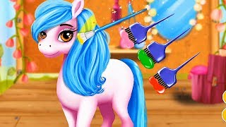 Little Pony Care Game - Fun Play Horse Hair Salon, Dress Up & Makeover Game For Kids