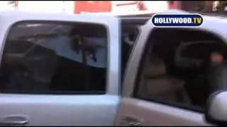 Whitney Houston - Leaving Bedford Medical Center (2/2/09)