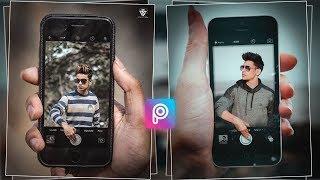 PicsArt iphone 3d Instagram viral Editing , 3D Mobile Manipulation Editing , 3D Mobile CB Editing