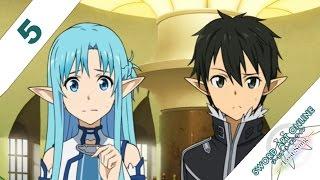 Sword Art Online: Lost Song English Walkthrough PS3 / PS VITA 5 - Kirito's Dried Meat!?