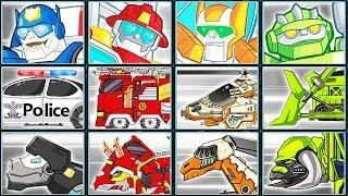 Transformers Rescue Bots: Hero Adventures + Dino Robot Corps #1 | Eftsei Gaming