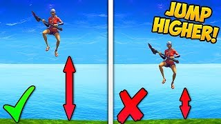 HOW TO JUMP HIGHER..!! *NEW TRICK* - Fortnite Funny Fails and WTF Moments! #287 (Daily Moments)