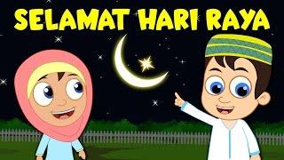 SELAMAT HARI RAYA   Happy Eid Song Malay   Lagu Kanak Kanak Melayu Malaysia