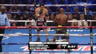 Timothy Bradley vs. Juan Manuel Marquez