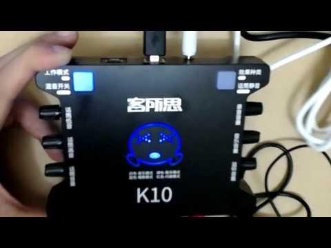 Xxx Mp4 Hướng Dẫn Sử Dụng Sound Card XOX K10 KS108 Trên điện Thoại 3gp Sex