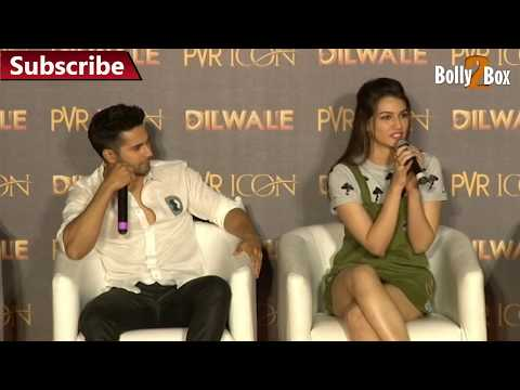 Kriti Sanon Hot at Dilwale Song Launch