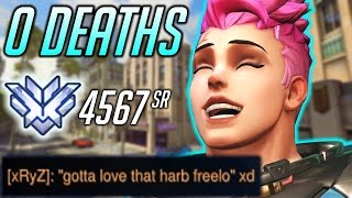 NO DEATHS 30-0 82% AVERAGE ENERGY Hollywood Overwatch 4567 SR