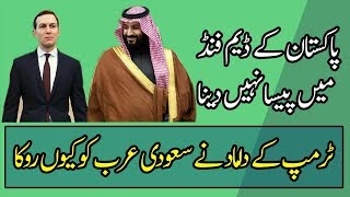 Saudi Arab Has Decided Not to Fund Pakistan Dam Fund Project