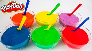 Play Doh Surprise Color cups colored with Minnie Mouse, Angry birds, Dora, Hello Kitty