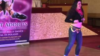 مهرجان التيت فى الغويط أداء الراقصة مارتا مالينوسكا