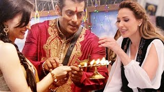 Iulia Vantur RETURNS To Celebrate Diwali With Salman Khan