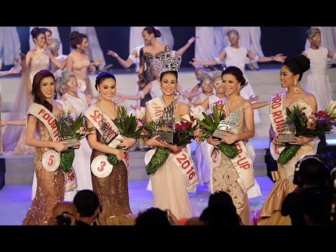 MISS CEBU 2016 BEAUTY PAGEANT WATERFRONT HOTEL CEBU PHILIPPINES.