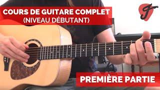 Cours de Guitare Complet (Niveau Débutant)