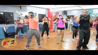 Cardio Kick Boxing -I Saw An Angel -Edit para K1 Fitness de Combat. Rutine de Boxeo.