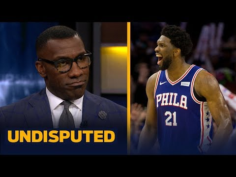 Shannon Sharpe echoes Joel Embiid s belief that he s the most unstoppable player NBA UNDISPUTED