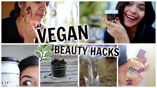 Vegan Beauty Hacks! Natural Remedies & DIY