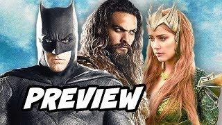 Justice League Aquaman and Mera Preview