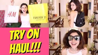 Try On Haul - Forever 21, H & M & More!!!