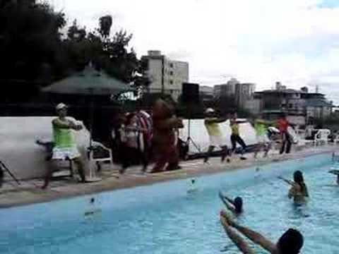 Aerodance Brasil Hidroginástica no Minas Tênis Clube 2