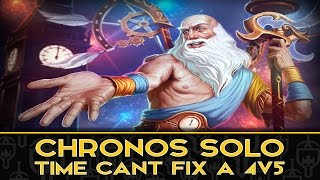 CHRONOS: CAN CHRONOS END THE GAME IN TIME?! - Incon - Smite
