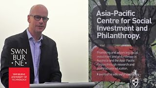 2013 Stegley Lecture: After the deluge: philanthropy for social change in a conservative era...