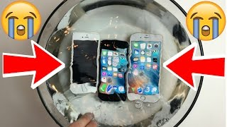 Is the iPhone SE WATERPROOF?! A iPhone SE vs 5S vs 6S Water Test! A Waterproof Test and Review.