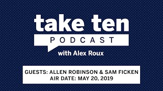 Take Ten with Alex Roux: Allen Robinson and Sam Ficken | Penn State | B1G Football