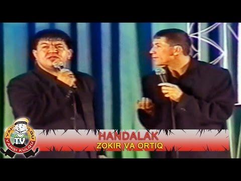 Handalak Zokir va Ortiq konsert dasturi 2002.yil