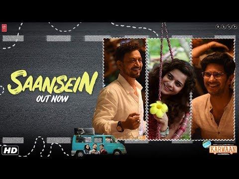 Xxx Mp4 Saansein Video Song Karwaan Irrfan Khan Dulquer Salmaan Mithila Palkar Prateek Kuhad 3gp Sex