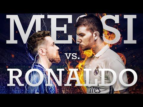 Cristiano Ronaldo vs Leo Messi Spanish Rap Battle