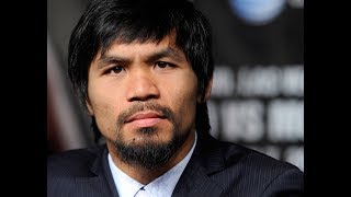 Manny Pacquiao is a Wanted Man !