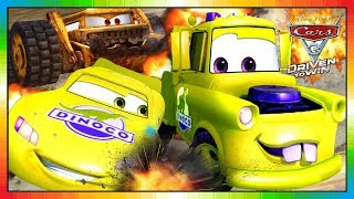 Cars 3 Driven to Win - gameplay - McQueen Vs Mater (yellow)