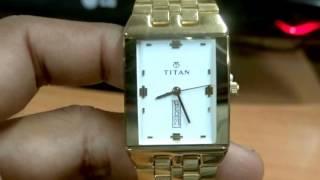 Titan 1918YM12 Karishma Analog Wrist Watch For Men Review