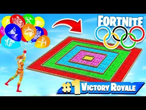 BALLOON OLYMPICS NEW Game Modes in Fortnite Battle Royale