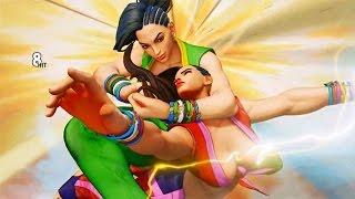 Street Fighter 5 LAURA vs LAURA GAMEPLAY 【60fps】[ [HD]