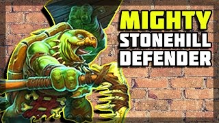Hearthstone - Mighty Stonehill Defender