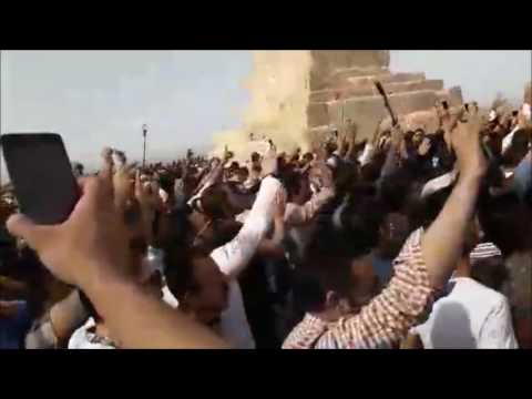 Iran Pasargad people chanting No Gazam No Lebanon, my life for Iran