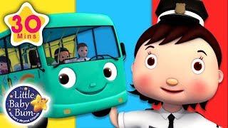 Traffic Lights Song - Wheels On The Bus | + More Nursery Rhymes & Kids Songs | Little Baby Bum