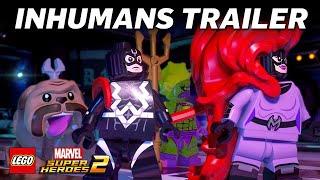 LEGO Marvel Super Heroes 2: Inhumans Trailer UK – Official Marvel | HD