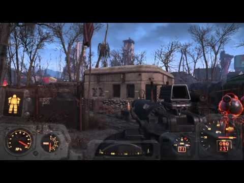 Fallout 4: Free x-01 Power Armor at Military Base