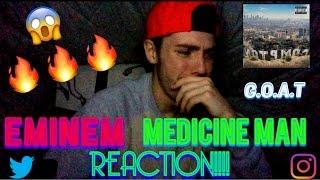 Eminem- Medicine Man REACTION!!!