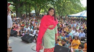 Punjabi Singer Rupinder Handa at Punjabi Sports Club and Cultural Club Chicago annual Punjabi Mela