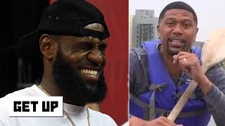 LeBron slept beautifully after the Raptors beat the Warriors - Jalen Rose | Get Up