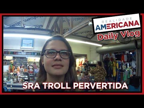 SRA TROLL PERVERTIDA NO MERCADO DE PULGAS