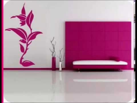 Decoracion de interiores con vinilos decorativos florales.mov Vinilos Decorativos MX Mexico