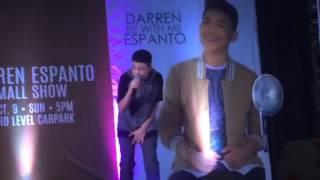 Darren Espanto 7 Minutes Acoustic Version @ Sm Cit Tarlac