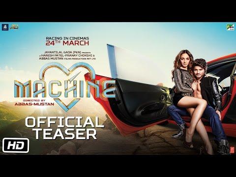 Machine   Official Teaser   Mustafa   Kiara Advani   Abbas-Mustan