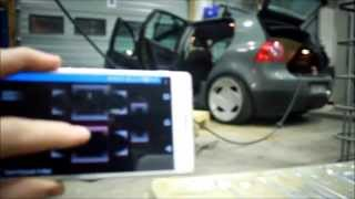 Arduino & Android controlled Air Suspension (testing)