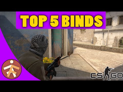 TOP 5 Helpful Binds - CS:GO