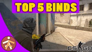 TOP 5 Helpful Binds - CS:GO